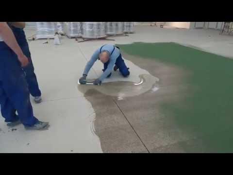 Как выполнить Эпоксидный Пол с Кварцевым Песком | BAUTECH