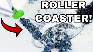 MINI BLUE LOBSTER CRAWFISH ROLLERCOASTER *SAFE FOR TRANSPORT*