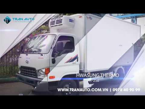 Máy lạnh thùng Hwasung Thermo tại Tran Auto