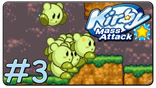 Kirby Mass Attack 100% Walkthrough Part 3 Green Grounds Stage 5 & 6
