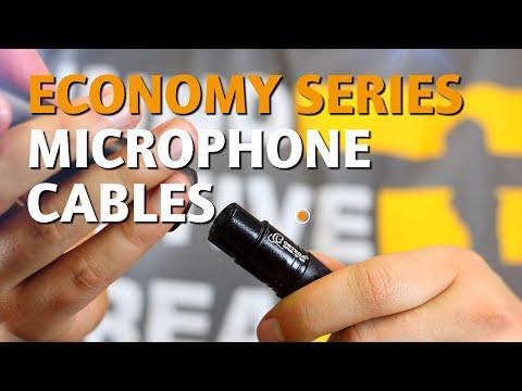ORTEGA GUITARS | OECM MICROPHONE CABLES (ECONOMY SERIES)