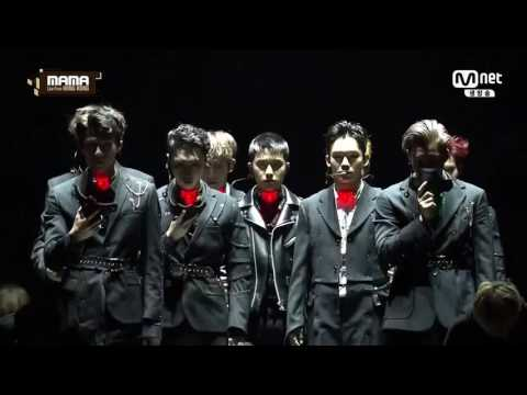 Opening EXO Performance + VCR in MAMA 2016