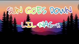 SunGoesDown officialLyrics (LilNasX)