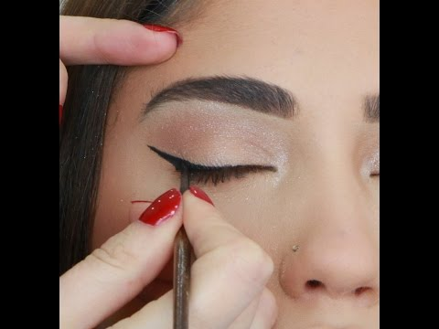 HOW TO DO SIMPLE CAT EYES Perfectly!