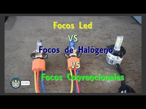 Comparativo entre focos led, focos de halógeno y focos convencionales para motocicletas