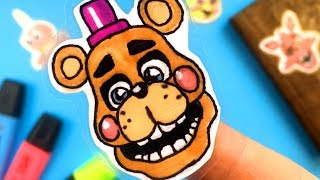 CREATE YOUR FNAF ANIMATRONICS   14 COOL Five Nights at Freddy's DIY IDEA   CHALLENGE | You cant hide