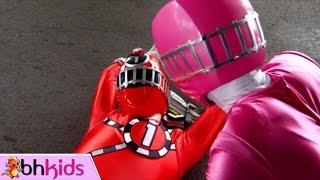 Chiến Đội Hỏa Xa ToQger Tập 7 : Ước Mơ Ninja   Siêu Nhân Đường Sắt