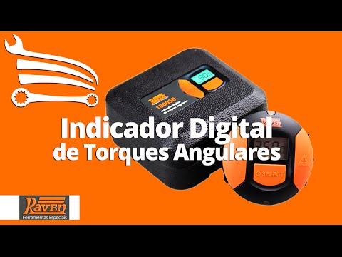 Indicador Digital de Torques Angulares com Base Magnética - Video