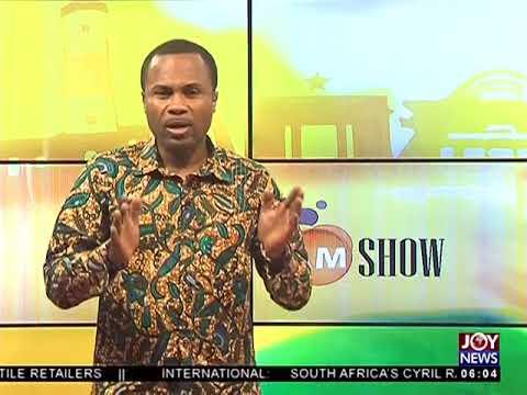 AM Show Intro on JoyNews (25-5-18)
