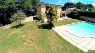 preview picture of video 'Garenne : villa avec piscine à Aix en Provence - VacancesCôtéSud.com'