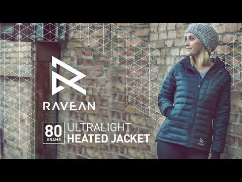 Wearable Products: Ravean's Ultra Light Heated Jacket