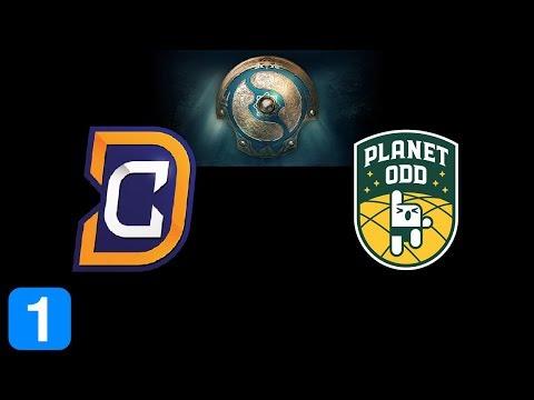 DC vs Planet Odd Game 1  The International 2017 Highlights Dota 2