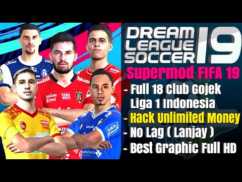 Download Dream League Soccer Spesial Gojek Liga 1 Indonesia Full 18 Club Mod Fifa 19 Offline