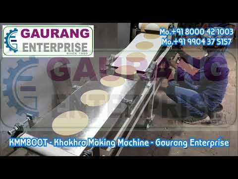 Automatic Khakhra Machine