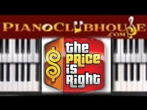THE PRICE IS RIGHT - TV Theme Song (easy piano tutorial lesson free)