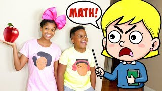 FUNNIEST SCHOOL SKITS! - Shasha and Shiloh - Onyx Kids
