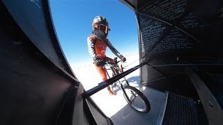 Cycling At 184mph !