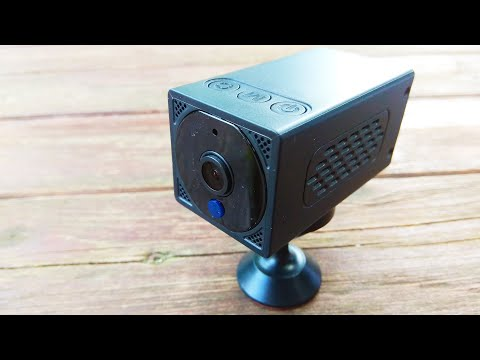 Тест мини смарт камеры BORUIT / BORUIT mini smart camera test