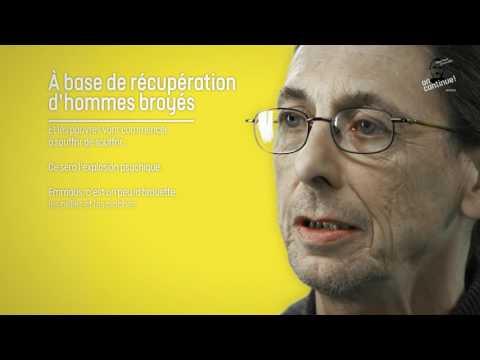"""Michel lit """"A base de récupération d'hommes broyés"""" de l'abbé Pierre"""