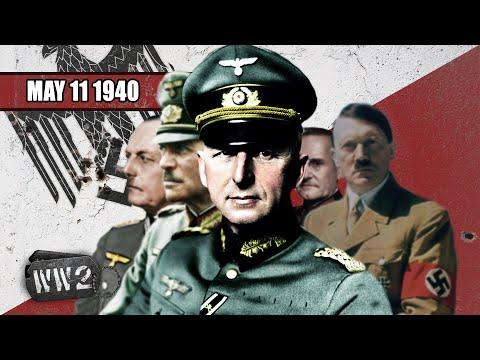 Němci udeřili na západ - Druhá světová válka