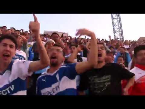 """""""Queremos la copa"""" Barra: Los Cruzados • Club: Universidad Católica"""