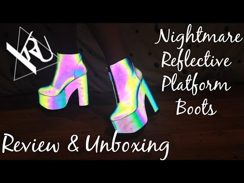 ☽ Y.R.U. Nightmare Platforms Unboxing/Review! ☾