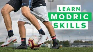 LEARN MODRIC FOOTBALL SKILLS   How To Play Like Luka Modric