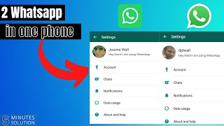 How to use 2 WhatsApp in one phone 2021 [EASY]