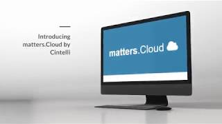 Introducing matters.Cloud by Cintelli