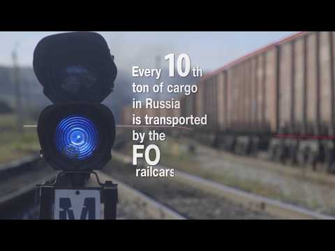Freight One is the largest freight rail operator in Russia