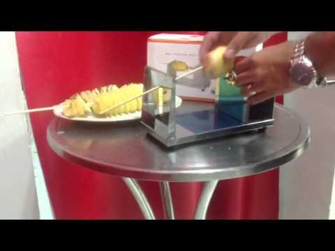 Cortador de papas y vegetales en espiral