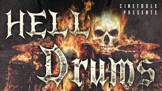 HELL DRUMS - Epic Cinematic Drum Samples -  By Cinetools