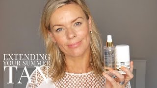 Extend your summer tan for mature skin | James Read Tan
