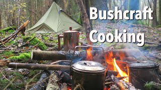 TOP 8 Campfire Meals! Camp Fire Cooking | Foraging & Bushcraft