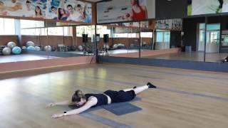 Смотреть онлайн Упражнения для спины по технике пилатес
