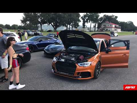 Keith Brantley's APR Tuned RS3 Runs 168 MPH in the Half Mile
