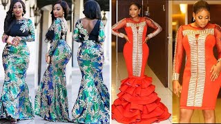 60 African Wedding Lace Dresses That Will Blow Your Mind | Ankara Aso Ebi Styles | Fashion Designs.