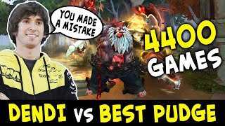 Dendi vs TOP-1 PUDGE SPAMMER in pub Levkan — he knows how to COUNTER