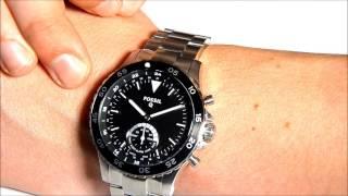 Fossil Q Crewmaster - Smartwatch.de Unboxing [DEUTSCH]