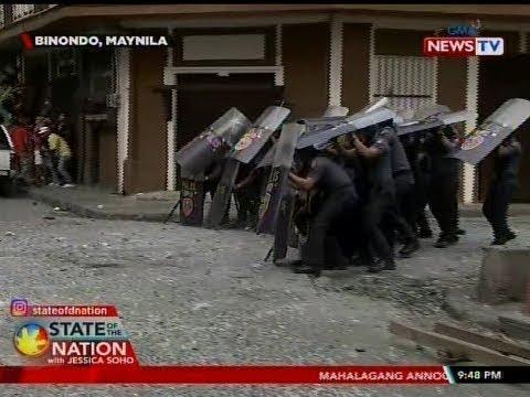 [GMA]  SONA: Pagde-demolish sa isang pribadong compound, hindi natuloy dahil pumalag ang mga nakatira roon