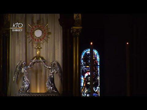 Prière du Milieu du jour du 6 octobre 2021 des Bénédictines du Sacré-Coeur de Montmartre