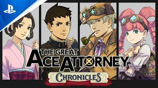 PlayStation The Great Ace Attorney Chronicles - Announcement Trailer   PS4 anuncio