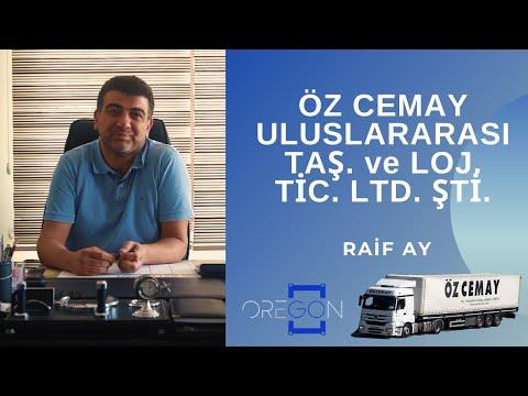 Raif AY   Öz Cemay Uluslararası Taş. ve Loj. Tic. Ltd. Şti.   Oregon Hatay A.Ş. Yönetim Kurulu Bşk.