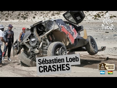 Image video Accident Sébastien Loeb - Dakar 2016
