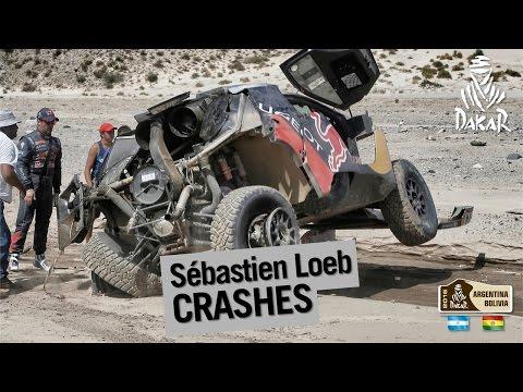Image video Accident Sébastien Loeb - Dakar 2016