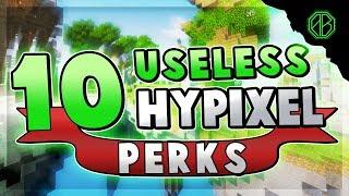 10 Most USELESS Perks in Hypixel Skywars