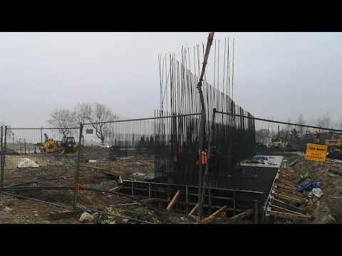 Betonowanie obiektu mostowego WS 15