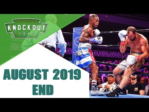 Boxing Knockouts | August 2019 End