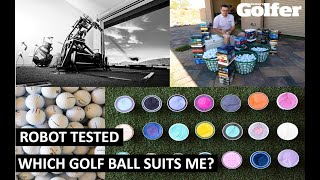 ROBOT TESTED: Which golf ball suits me?
