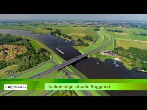 VIDEO | Bouw nieuwe brug bij Roggebot begint later, maar het moet nog steeds in 2022 klaar zijn
